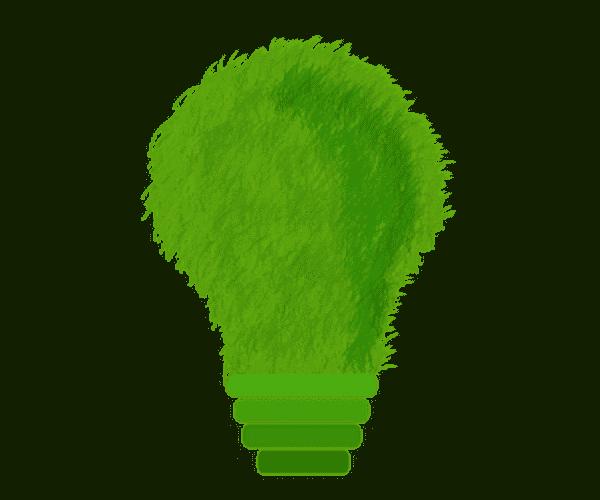 Photovoltaik Anlage Glühbirne