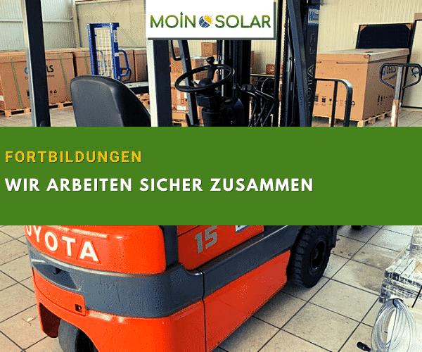 photovoltaik sicher gabelstapler